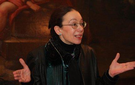 Monica Papazus foredrag var både overraskende og afslørende. FOTO: Steen Raaschou