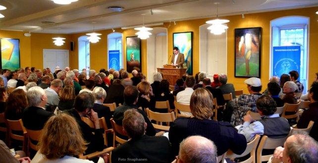 Ligesom til TFS' femårsjubilæum foregår generalforsamlingen i Store Sal i  Vartov, København