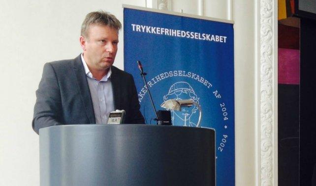 Selbekk var den eneste skandinav i panelet. FOTO: Torben Mark Pedersen