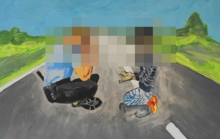 'Gemmeleg', Uwe Max Jensen. Censureret.