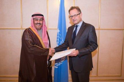 Store smil og håndtryk, da Saudi-Arabien 2015 blev optaget i FN's menneskerettighedsråd