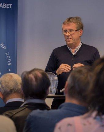 Nils Gunder Hansen mente der var et markant brud i Krarups forfatterskab. FOTO: Thomas Fog